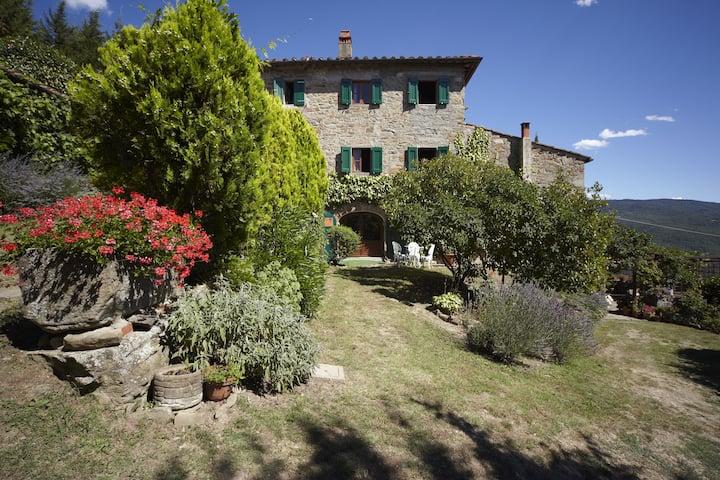 Fabulous farmhouse near Florence