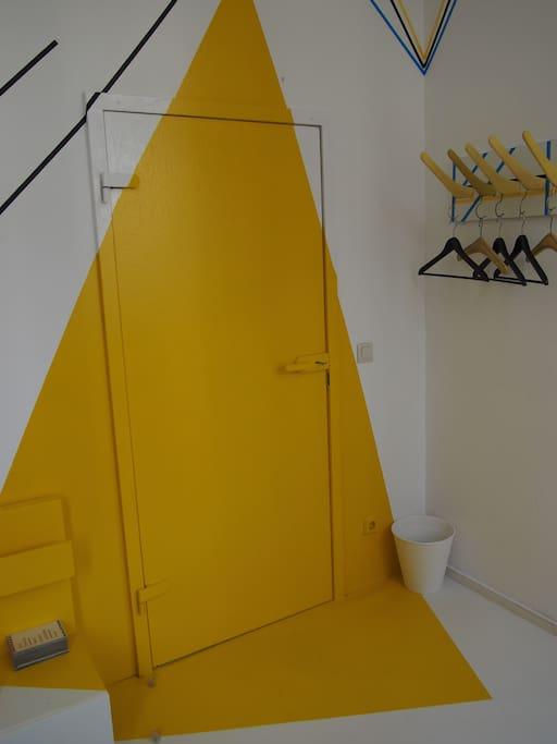 Your yellow door way into Berlin city life