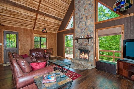 ** Secluded cabin near Asheville and Ski Resort** - Clyde
