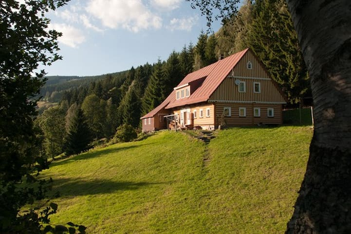 ROMANTIC TIMBERED COTTAGE - Pec pod Sněžkou - Alpehytte