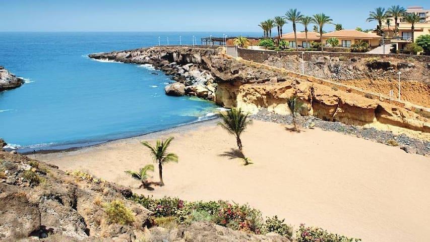 PRIMERA LÍNEA DE PLAYA  EN PLAYA PARAISO - Playa Paraíso - Adeje - Apartamento