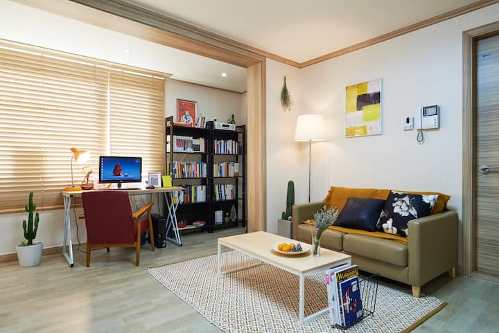Itaewon/Hannam_Spacious Private BR