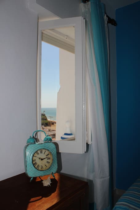 The room's window