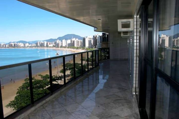 Luxury Apt 5 Suites Ocean Front - Guarapari - Apartament