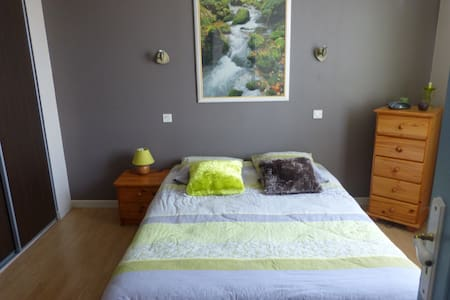 un spa avec une chambre zen - Le Petit-Quevilly - Ház