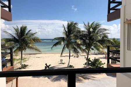 Casa Atún Mahahual, vista al Mar Caribe