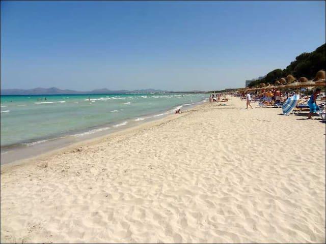 Acogedor apartamento Playa de Muro - Illes Balears - อพาร์ทเมนท์