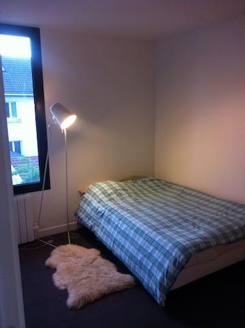 2nd room with double bed