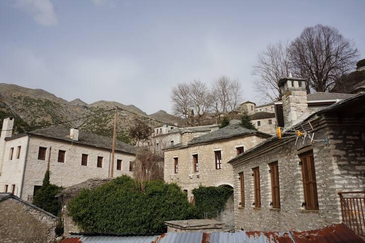 Το σπίτι στο βουνό - Syrrako - Haus