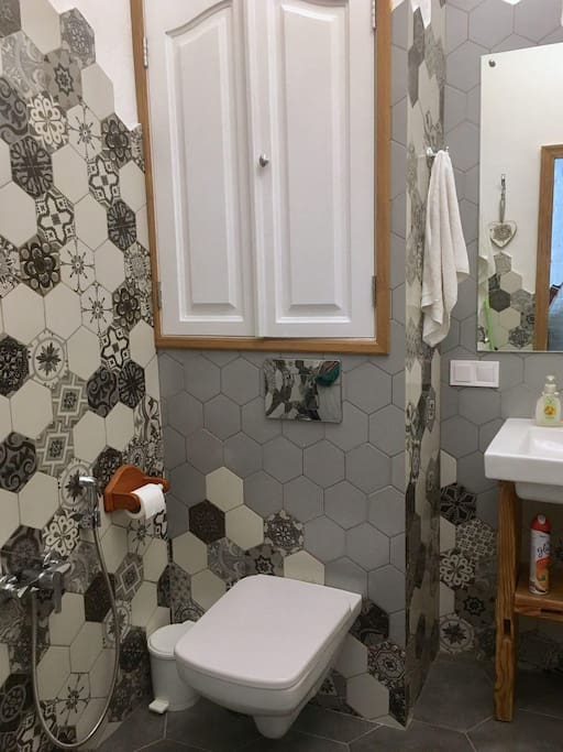 Туалет + биде