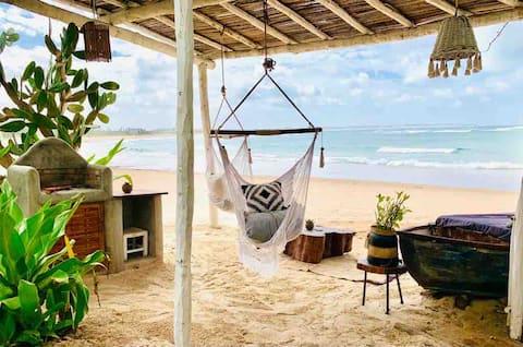 Boho Style Beach Apartment - Ground Floor