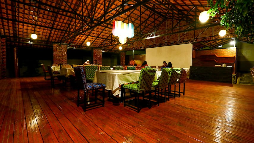 We have hosted parties and event for our guest at the restaurant talk to us for more details.