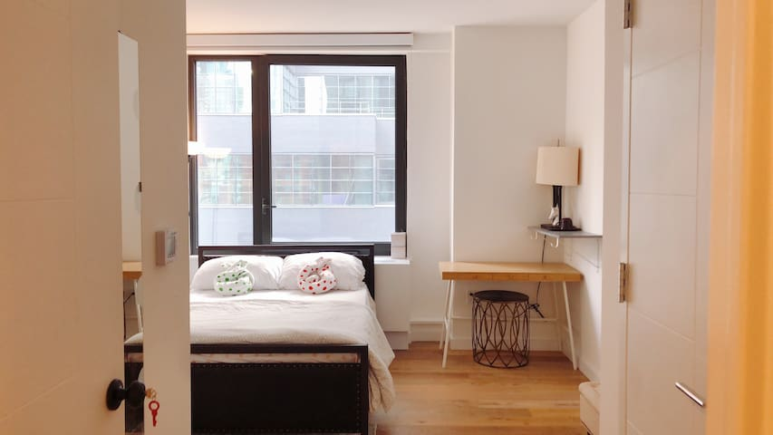 【RoomB】Manhattan Midtown Luxury Apt rooftop view