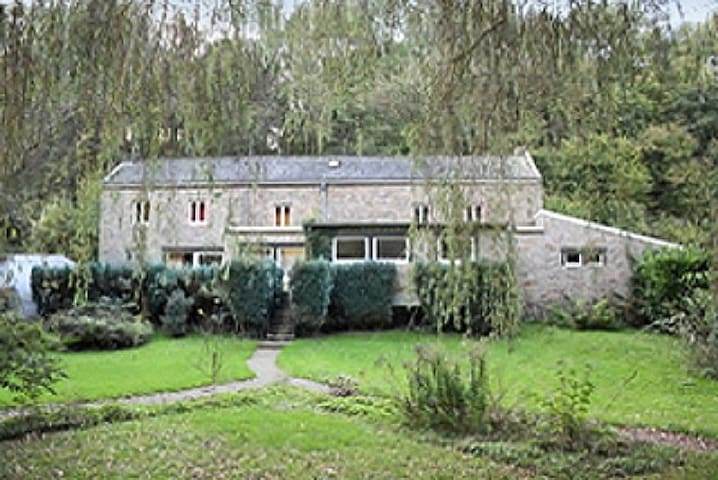 Countryside stone house with WiFi - Comblain-au-Pont