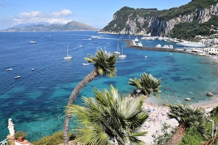 Amazingly panoramic, beautiful apartment in Capri - Capri