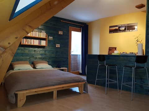 Chambre, Chartreuse, St Pierre d'Entremont