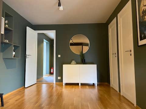 Zentrale Wohnung in Hovden.