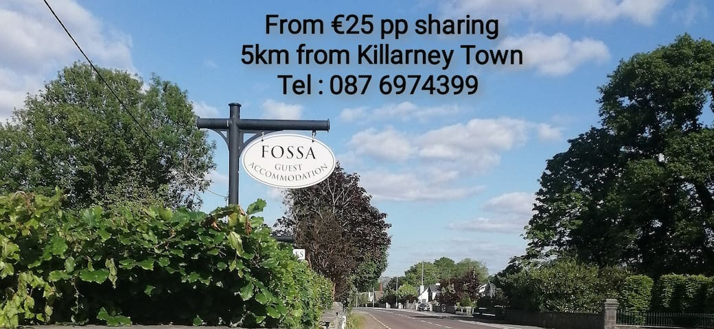 Fossa Guest Accommodation,Ring of Kerry (Room 3)