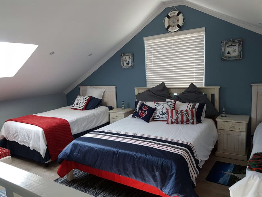 Double Bed and Sky Light