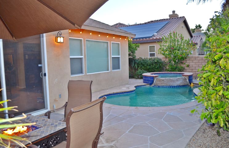 Private Pool Home Walking Distance to Festivals!