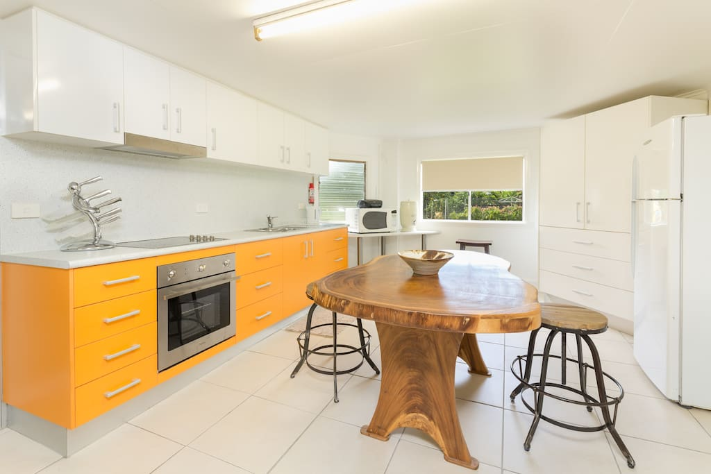 Your own Kitchen and breakfast area