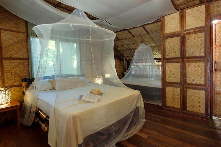DELUXE seaside room in AMAMI beach resort