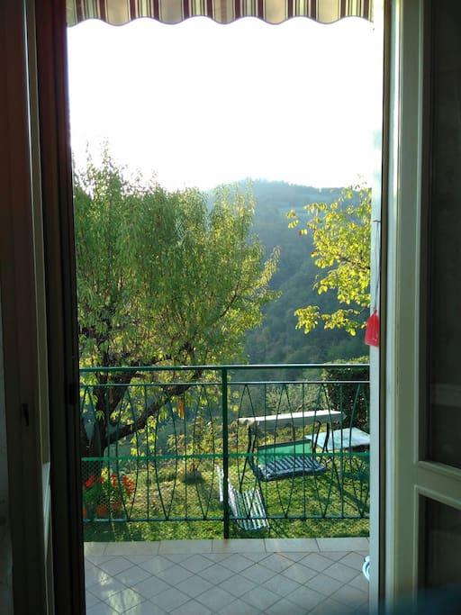 La finestra della cucina