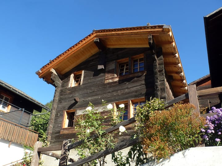 Traditional Valais Style House