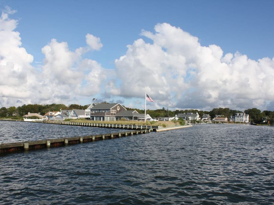 Enjoy Moriches Yacht Club races from your private decks