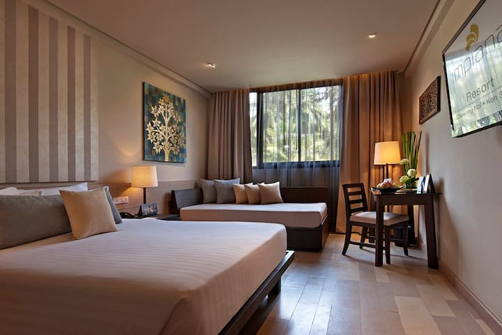 Comfy room for 2 in Chaweng Noi Beach