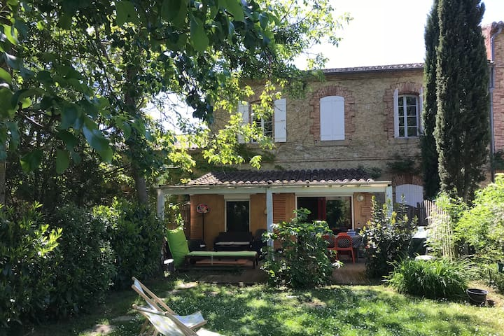 Maison de charme avec jardin au calme