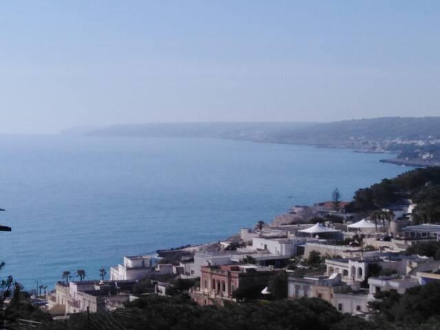 Vista panoramica Castro
