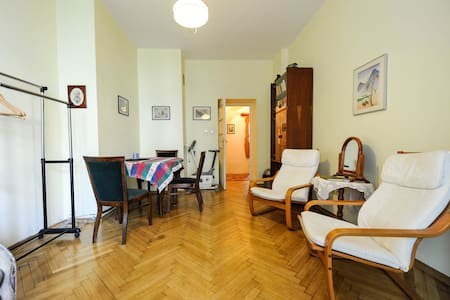 B&B downtown Warsaw sunny room - Varsovie - Appartement