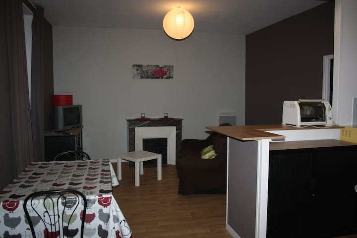 Apartment city center Luçon - Luçon - 公寓