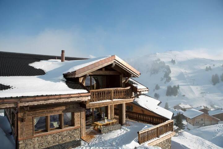 Luxueux chalet sur les pistes au Valais - Les Crosets