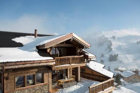 Luxueux chalet sur les pistes au Valais - Les Crosets - Alpstuga