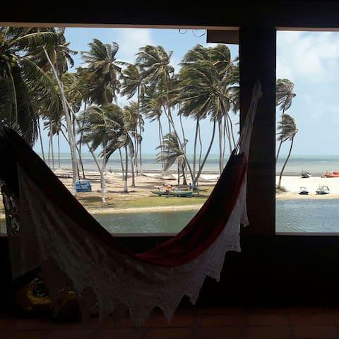 Casa de Praia no paraíso.