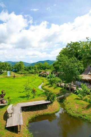 Relive resort - ตำบล สบเปิง - 小木屋