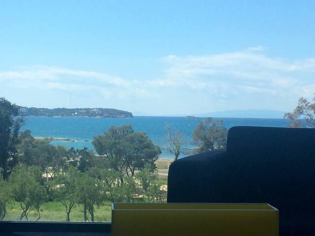 best sea view apartment in Athens - Voula - Apartamento