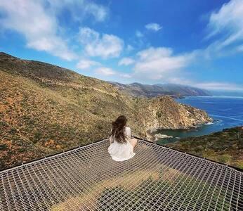 •Casa Sagrada• Beachfront mountain view