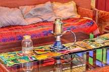 Would you like us to fire up the hookah for you? Just ask!