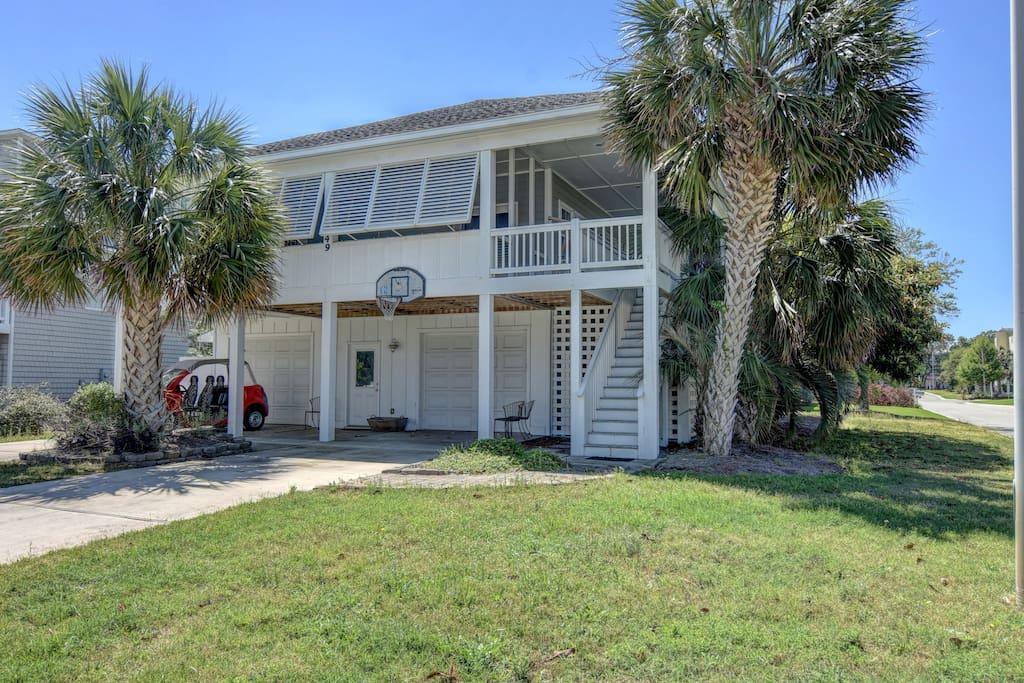 The hemingway fantastic coastal family get away for Carolina island house cost to build