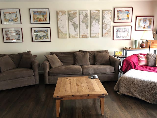 Outer Sunset Home ⭐️ Sleeps 6 ⭐️ Parking ⭐️ W/D ⭐️