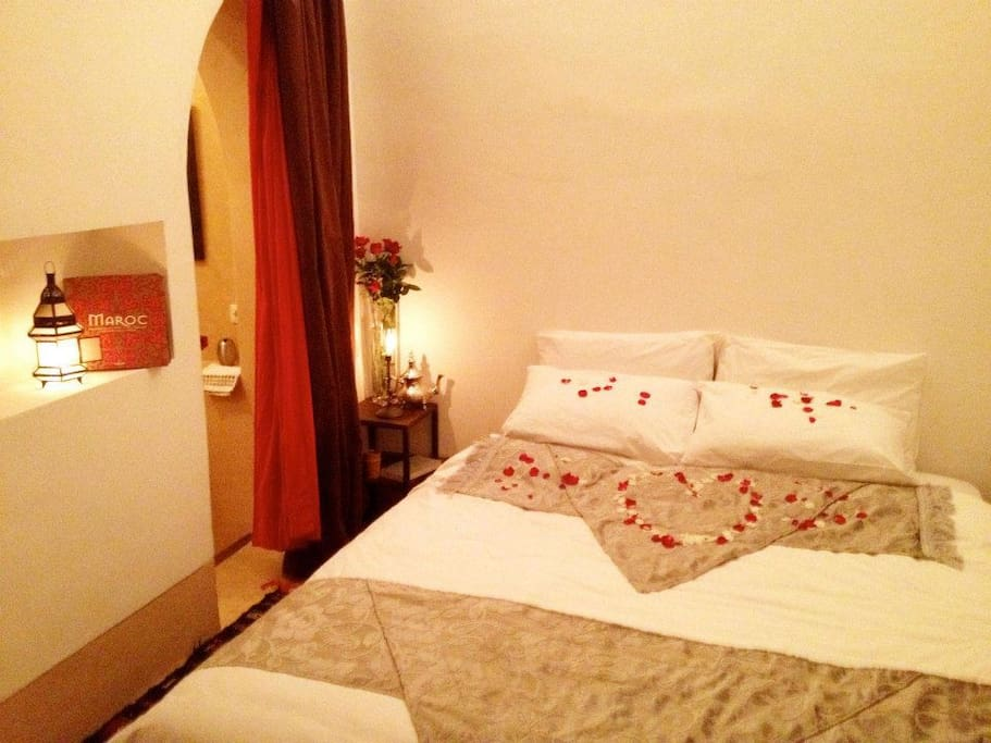Marrakech riad Sinbad room