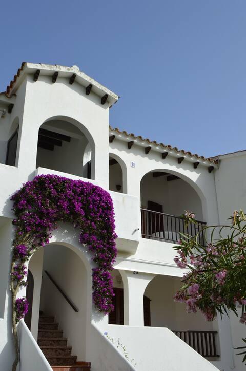 Apartamento en la costa sur de Menorca