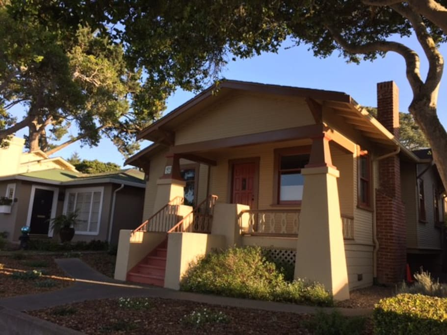 Our home is a craftsman style house in a quiet neighborhood within walking distance to the Monterey Bay Aquarium and downtown Pacific Grove.