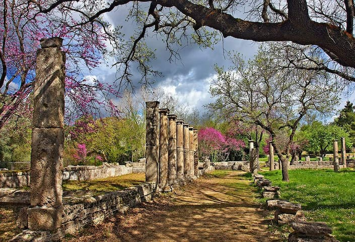 Country house in Ancient Olympia - Kampos - บ้าน