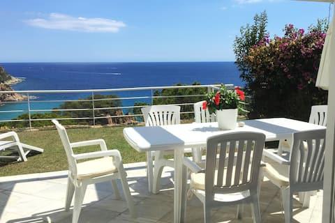 Panoramic Seaview. Wonderful Modern Villa.