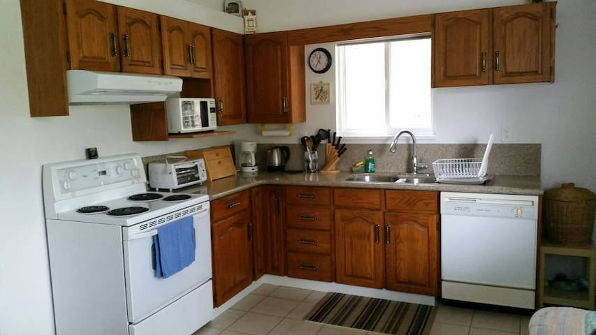 2 bdrm suite by the forest in city!