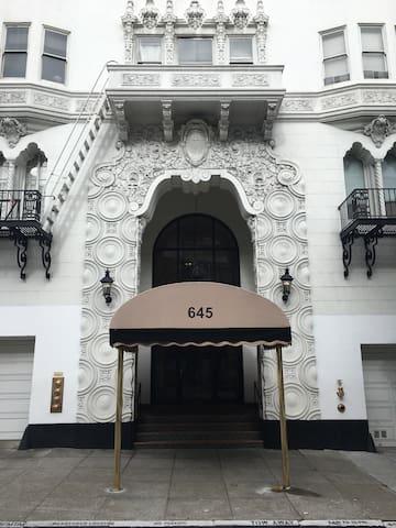 Amazing two bedroom Nob Hill gem! - San Francisco - Daire
